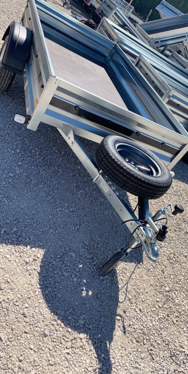 remorque option roue de secours support